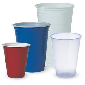 Dart Solo P12sb 12 Oz Blue Plastic Cup 1000 Case Splyco