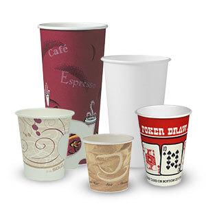 PAPER HOT CUPS / LIDS