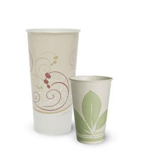 PAPER COLD CUPS / LIDS