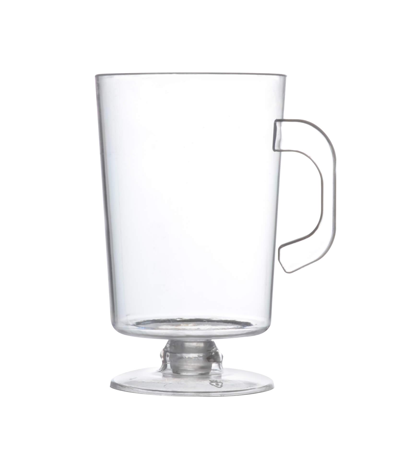 Fineline 6416-CL Tiny Temptations 2 oz  Clear Espresso Mug - 200/Case
