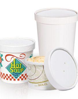 PAPER SOUP CUPS / BOWLS