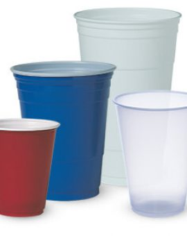 PARTY CUPS - COLORED / DESIGNED