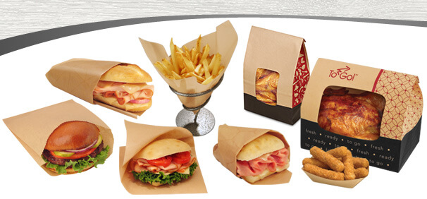 PAPER FOOD WRAP AND LINERS