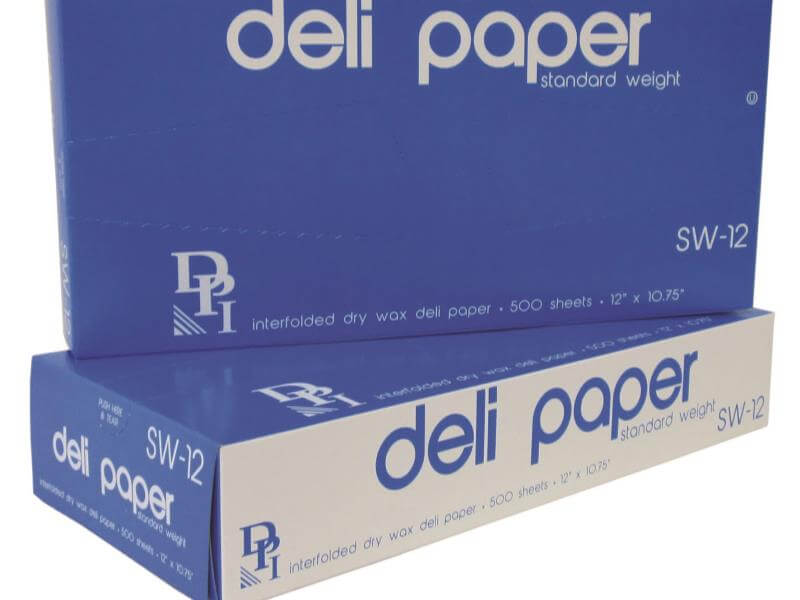 durable packaging 12 x 10 3 4 interfolded deli wrap wax paper